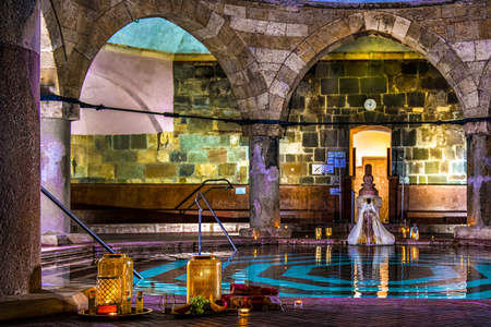 Enter the world of Rudas Thermal Bath