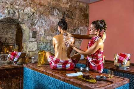 Traditional water massages